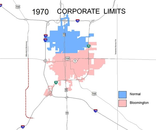 1970 Corporate Limits