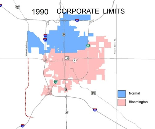 1990 Corporate Limits
